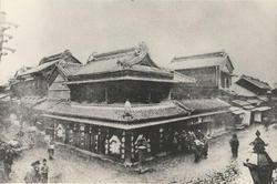 明治30年代川越の街並み風景